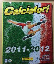 ALBUM PANINI - FIGURINE CALCIATORI 2009-10 - VUOTO DA EDICOLA + INSERTO + 6 FIG.