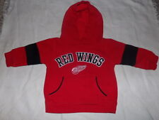 NHL Detroit Red Wings Baby Infant Hoodie Jacket Size 12M EUC