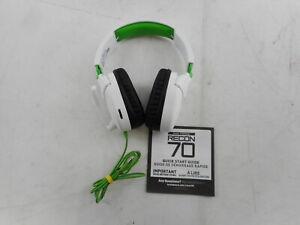 Turtle Beach TBS-2455-02 - Recon 70 White Gaming Headset, White/Green