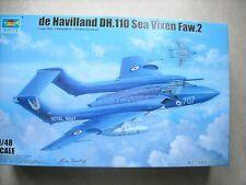 TRUMPETER-1/48-#5808- DE HAVILLAND DH.110 SEA VIXEN FAW.2