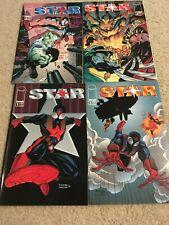 STAR COMIC 1,2,3,4 mini series IMAGE 1994  (SAVAGE DRAGON) African American Hero