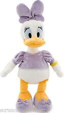 Disney Store Daisy Duck Plush Toy Exclusive Original Purple Shirt Bow Shoes New