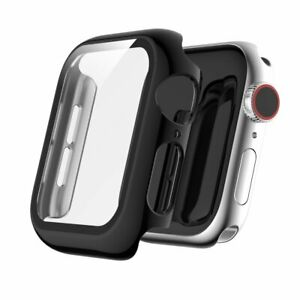 For Apple Watch Series 5/4 44mm AMZER Full Coverage Plating TPU Bumper Case