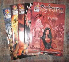 Sojourn #9, 10, 11, 12, 13 (Crossgen 2002) Signed by Ron Marz, F to VF condition