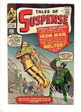 Tales of Suspense #47 VERY FINE- 8.0/7.5 1ST APP MELTER EARLY IRON MAN! KEY 1963