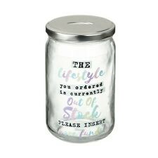 Out of Stock Lifestyle Funds Money Jar from Heaven Sends - Novelty Gift Idea