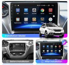 "Autoradio 9"" Android 10 per PEUGEOT 2008 208 2013 - 2020 navi BT Wifi GPS"