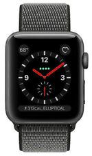 Apple Watch Series 3 42mm Aluminiumgehäuse in Space Grau mit Sport Schleife