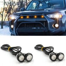 4x Raptor Style Amber LED Grille Fog Lights For Toyota FJ Cruiser 4Runner Tacoma