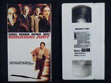 Runaway Jury VHS TAPE 2003 - John Cusack - Rachel Weisz
