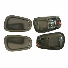 Fit 98-02 Toyota Corolla Chevy Interior Inside GRAY Left Right Side Door Handle