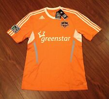 Houston Dynamo Men's Adidas Replica Jersey New With Tags