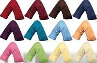 """LARGE SIZE,100% cotton satin(350TC) V-Shaped Pillowcase, 34cm x 84cm (13"""" x 33"""")"""