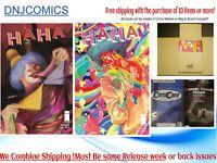 HAHA #1 COVER  A & B  DEL REY (MR) (IMAGE COMICS) 12/14 presale 2020 NM