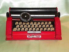 Vintage Tom Thumb Child's Tin Toy Typewriter, Western Stamping Co. Made in USA