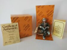 "Emmett Kelly Jr Clown ""Big Business"" Miniature Collection Figure Flambro Nib"