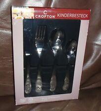 KINDERBESTECK Crofton - 4 PIECE CHILDS FLATWARE SET IN BOX  NIB
