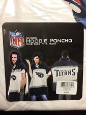 NFL Tennessee Titans Unisex Hoodie Poncho