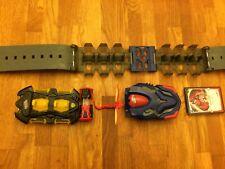 Bandai Monsuno Battle Bandolier Wave 1 Belt ,core and cards,Bundle items