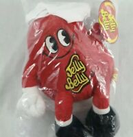"""Jelly Belly Soft Toy 12"""" Brand New In Bag Red Jelly Bean - Plushie Toy"""