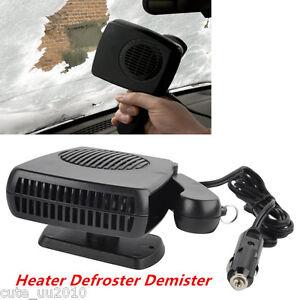 12V 150-300W Portable Car Heating Cooling Ceramic Heater Fan Defroster Demister