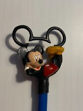 New listing Vintage 1990s Disney Applause Mickey Mouse Pencil Topper and Pencil Item D4236