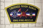 Crooked River Ranch Fire EMS Rescue Patch  - Oregon