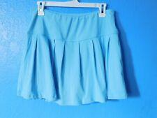 New listing Ladies Swim Swimwear Skort Skirt Short bottom Light Blue Aqua Size L New