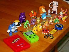 Vintage late 90's Pokemon Toys-Most Mini Tomy Figures/Preowned