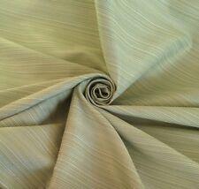 Laura Ashley 9 Metres Green Apple Horizontal Stripe Curtain & Upholstery Fabric