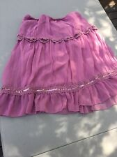 Born In America Luna Chix Chiffon And Sequin Skirt Size Large