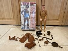 Vintage Marx Johnny West Accessories and Box