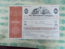 The B.F. Goodrich Company Sinking Fund Debenture Due November 15, 1994