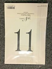 Vera Wang 11-20 Tented Table Cards $17 Paper Source Numbers Crane Wedding Event
