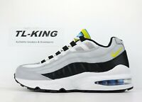 Nike Air Max 95 GS Youth Wolf Grey Cyber Black 905348 017 Msrp $100 JB