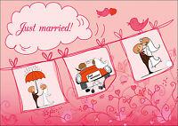 35 hübsche Ballonkarten/Luftballon Karten/ Ballonflugkarten für Hochzeit,Set 5