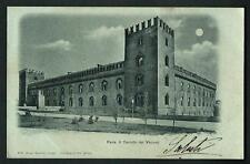 Pavia : Il Castello dei Visconti - cartolina viaggiata nel 1900