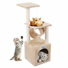 "67"" Cat Tree Condo Tower Pet Kitty Play Climbing Furniture w/ Scratching Post"