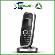 Siemens Gigaset SL3 Teléfono Inalámbrico En Negro/Plata