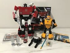 Transformers MPF-12 Sideswipe & KBB Bumblebee Oversized MP Masterpiece Lot