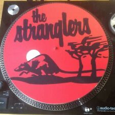 "12""  VINYL RECORD FELT SLIPMAT THE STRANGLERS  PUNK LP"