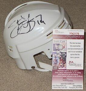STEVE YZERMAN Signed DETROIT RED WINGS Mini Helmet - JSA H42170