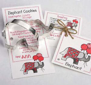 ELEPHANT COOKIE CUTTER~~ BY ANN CLARK