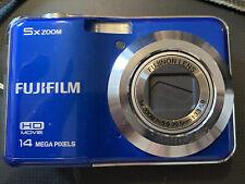 Blue Fujifilm 5 X Zoom Digital Camera 14 Mega Pixels