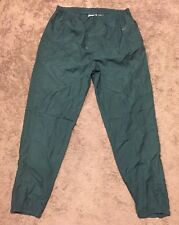 Qualified Vintage Reebok Lightweight Green Nylon Windbreaker Track Pants Men's Size 2xl Clothing, Shoes & Accessories