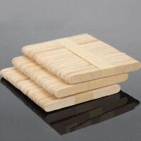DE Holzspatel Holzstiele Modellbau Bastelhölzer Stück Eisstiel Holz Holz 50