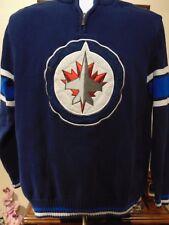NHL Winnipeg Jets Men's sweater 1/4 Zipper Large
