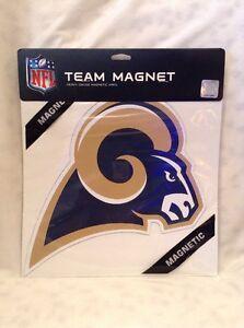 Fremont Die 98762 St. Louis Rams 12 in. Vinyl Magnet LOS ANGELES