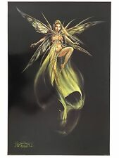 ALCHEMY GOTHIC,A FAIRY'S DREAM LADY DRAGONFLY, RARE AUTHENTIC 2005 POSTER