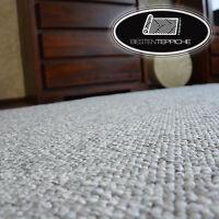 SEHR DICK Läufer exklusive Teppiche grau Moderne Loop Teppichboden Breite 50-200